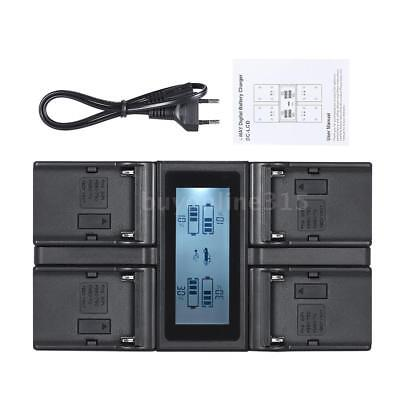 AU46.75 • Buy NP-F970 4Slot Digital Camera Battery Charger LCD For SONY NP-F550 F750 F950 FM50