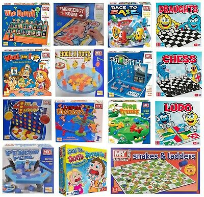 £8.99 • Buy Full Size Classic Traditional Family Board Games Kids Childrens Indoor Gift Toys