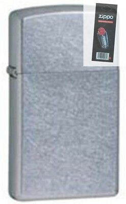$10.73 • Buy Zippo 1607 Street Chrome Windproof Lighter + FLINT PACK