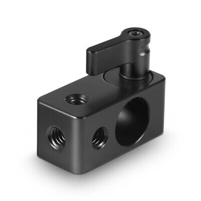 SmallRig Single Rod Clamp Iiwith 1/4  Thread For 15mm DSLR Rig 843 • 4.44£