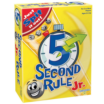 AU26.65 • Buy 5 Second Rule Jr Board Game