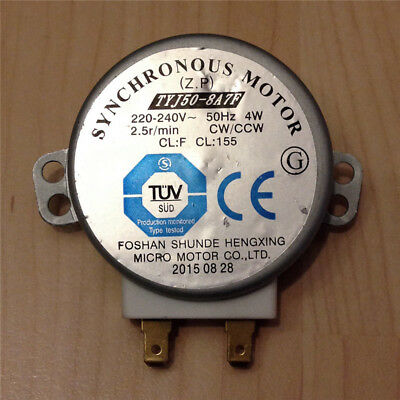 TYJ50 - 8A7F CW/CCW Sharp 2.5R/Min Microwave Turntable Synchronous Motor • 12.49£