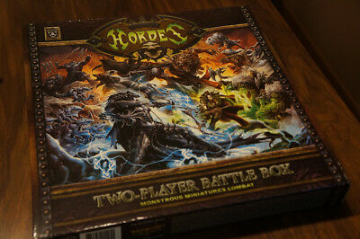 $120 • Buy Hordes Two-Player Battle Box - Circle Vs Legion - Out-of-Print - Factory Sealed