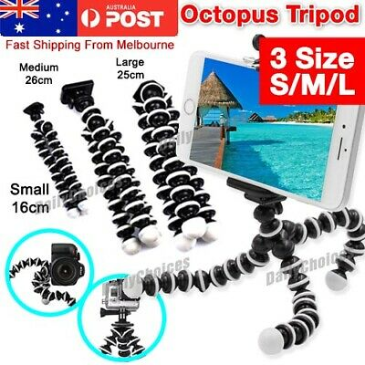 AU15.45 • Buy Universal Octopus Stand Tripod Mount Holder For IPhone Samsung Cell Phone Camer