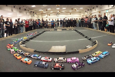Start Your Own RC Oval Club - Model Bangers Hot Rods Saloons 1300 2L Stock Cars • 10£
