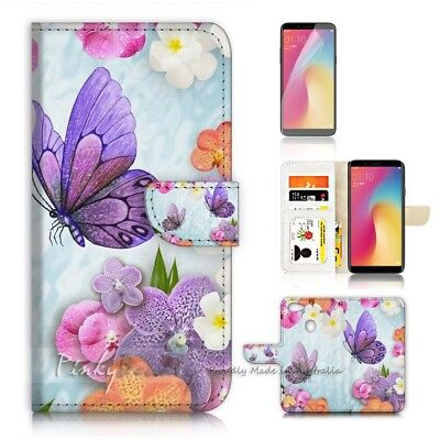 AU12.99 • Buy ( For Oppo A73 ) Flip Wallet Case Cover P21096 Butterfly