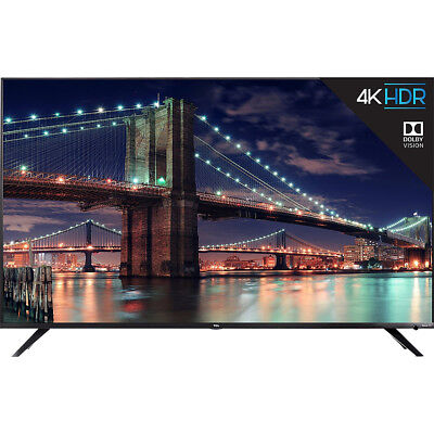 View Details TCL 55-inch 4K UHD Dolby Vision HDR Roku Smart TV In Black 55R617 • 629.99$