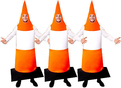 $ CDN102.12 • Buy Pack Of Road Cone Fancy Dress Traffic Cone Costume Stag Night Funny Outfit Lot