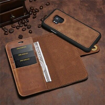 $ CDN18.98 • Buy Samsung Galaxy S9/S9+ Plus Removable Leather Wallet Magnet Card Flip Cover Case