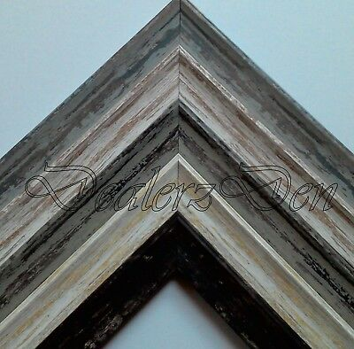 £6.99 • Buy ShabbyChic Vintage Distressed Wood Effect PICTURE POSTER PHOTO FRAME A1 A2 A3 A4