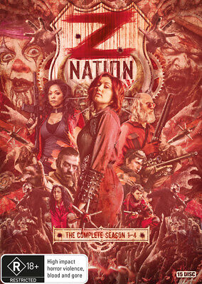 AU81.80 • Buy Z Nation The Complete Season 1, 2, 3 & 4 DVD Box Set 15-Disc Set R4 New