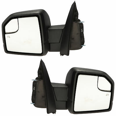 $769.15 • Buy OEM NEW Right & Left Power Fold Heated Mirror W/ Turn Signal 15-17 Ford F-150