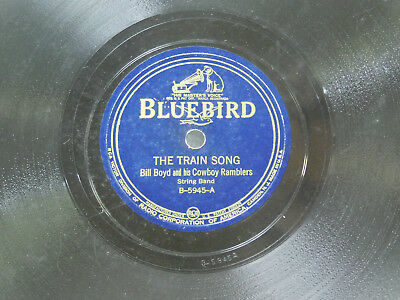 £5.09 • Buy Bill Boyd 78 The Train Song Bw Under The Double Eagle   Bluebird VG+bwVG Country