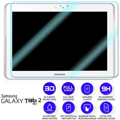 £4.39 • Buy For Samsung Galaxy Tab 2 10.1 Tempered Glass Screen Protector Film P5100 P5110