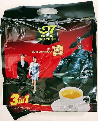 AU42.70 • Buy G7 Coffee Vietnamese Trung Nguyen G7 Instant Coffee 3 In 1 (100 Sachets X 16g)