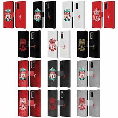 £17.95 • Buy Liverpool Fc Lfc Crest 1 Pu Leather Book Wallet Case Cover For Samsung Phones 1