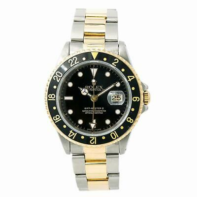 $ CDN10055.02 • Buy Rolex GMT-Master II 16713 Mens Automatic Watch Two Tone Gold Buckle 40mm
