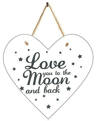Wall Plaque With Inspirational Quote, Wooden Wall Hanging Plaques For Homes • 1.49£