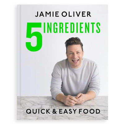 AU45 • Buy 5 Ingredients, Quick & Easy Food By Jamie Oliver Hardcover Book