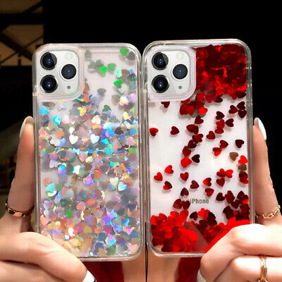 AU6.48 • Buy For IPhone 11 Pro Max Xs XR X 6s 7 8 Plus Cute Glitter Moving Liquid Soft Case