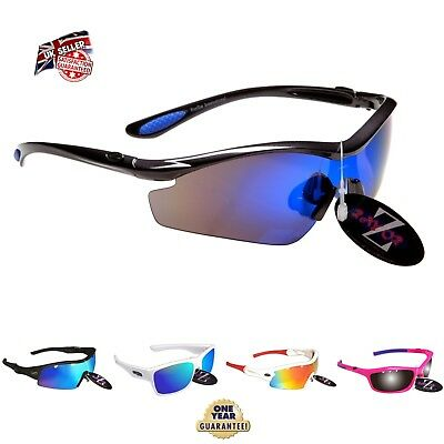 Rayzor Sports Wrap Sunglasses UV400 Anti Glare Mens Women Unisex Rrp£49 *c • 12.50£
