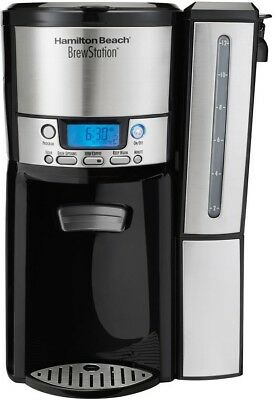 Coffeemaker 12-Cup Dispensing Programmable In Black With Water Level Indicator • 47.75£