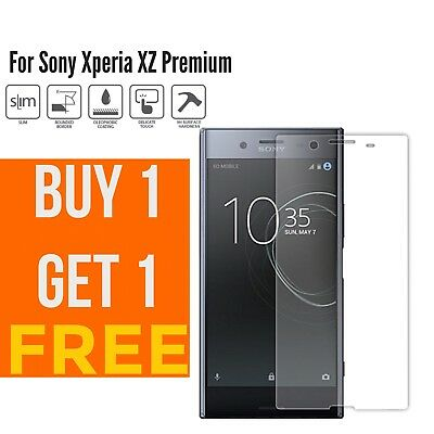 AU4.97 • Buy 100% Genuine Tempered Glass Screen Protector For Sony Xperia XZ Premium