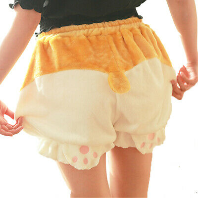 $ CDN28.73 • Buy Kawaii Clothing Corgi Dog Shorts Pants Harajuku Japan Bloomers Cute Shiba Inu