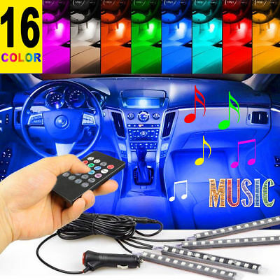 $11.53 • Buy 48 LED Car Charge Interior Accessories Floor Decorative Atmosphere Lamp Light US