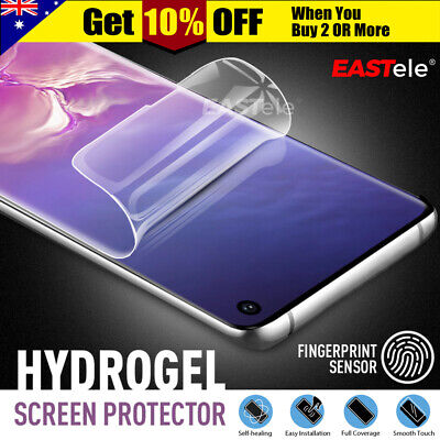 AU4.95 • Buy For Samsung Galaxy S20 Ultra S10 S9 S8 Plus Note 20 10 HYDROGEL Screen Protector