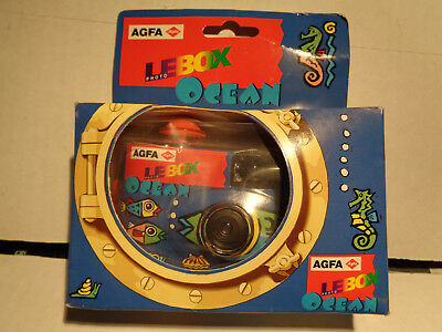 £3.54 • Buy AGFA LeBox Photo Ocean HDC+ 400 24+4 Underwater Disposable Camera