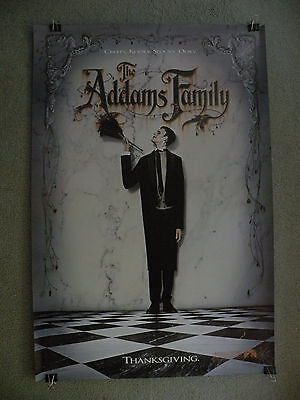 $ CDN7.93 • Buy The Addams Family Advanced Teaser 27X40 1991 Movie Poster