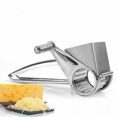 £9.99 • Buy Hand Held Stainless Steel Classic Rotary Cheese Grater Chocolate Baking Kitchen