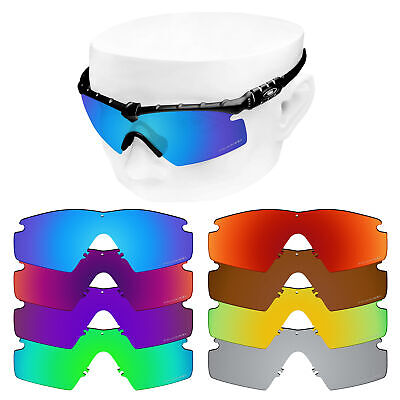 1317928d7bf7a OOWLIT Replacement Lenses For-Oakley Si M Frame 2.0 Etched Polarized  Sunglasses • 19.98