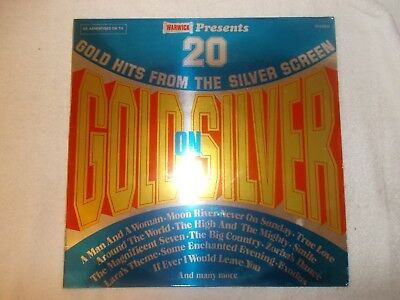 LP 12 Inch LP Record Album - 20 Gold Hits From The Silver Screen • 9£