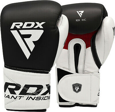 $ CDN101.99 • Buy RDX Cowhide Leather Boxing Gloves Martial Arts Punching Fight MMA Muay Thai C