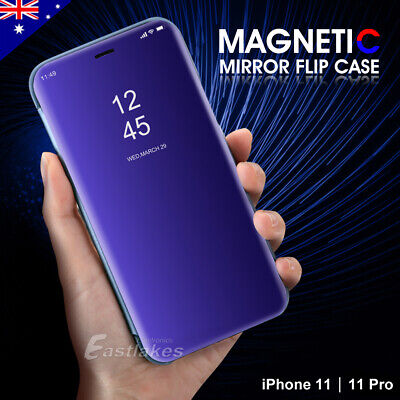 AU7.99 • Buy Luxury Flip Stand Mirror Case Cover For Apple IPhone 11 Pro Max XS XR 7 8 Plus