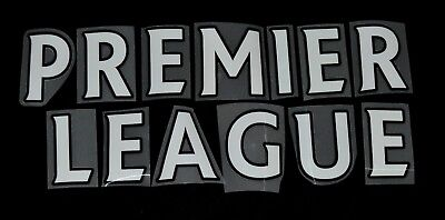 Official Premier League 2013/14/15/16 White Letter Name For Football Shirts  • 1.25£