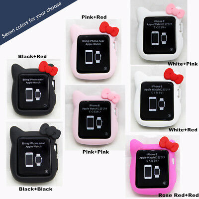 $ CDN5.34 • Buy For Apple Watch Series 1/2/3/4 Hello Kitty Apple IWatch Cover Case 38/42/40/44mm