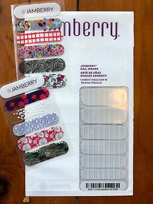 AU8 • Buy Jamberry Nail Wraps Full Sheet In Cosmopolitan Girl Plus 2xbonus
