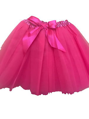 Excellent Quality Girls Tutu Fancy Skirts Dress Up 3 Layers- Genuine UK Seller • 3.25£