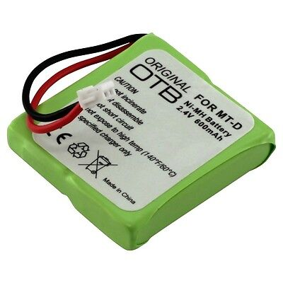 £12.30 • Buy Battery For Detewe Style 250 T-Com A201 BT Verve 450 SMS