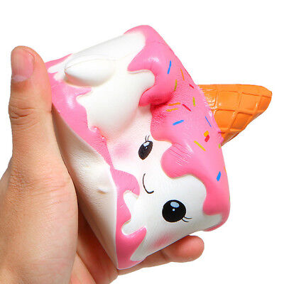 AU20 • Buy Jumbo  Kawaii Squishy Squishes Unicorn Narwhal Cake Taart Slow Rising Cake