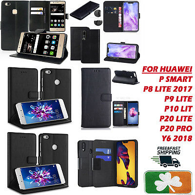$ CDN8.85 • Buy Brand New Top Quality PU Leather Wallet Case Cover For Huawei P8,9,10,20 Psmart