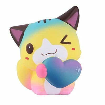 AU39.19 • Buy Anboor 4.7 Squishies Cat Love Heart Kawaii Soft Slow Rising Scented Animal Squi