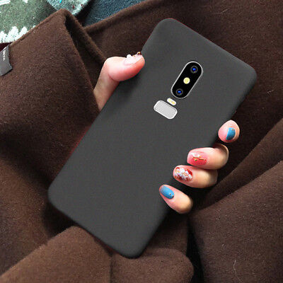 AU1 • Buy For OnePlus 6 5 5T 3T 3 Luxury Shockproof Slim Matte Soft Rubber TPU Case Cover