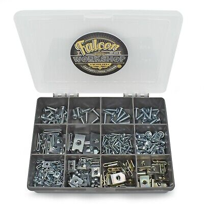 £14.99 • Buy Assorted Spire Clips U Nuts Captive Speed Fasteners Flange Self Tapping Screws