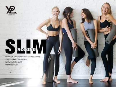 AU75 • Buy 2 YPL Slim Legging Black Free Size Sexy Deep Fast Fat Reduction Thermo Aromatic