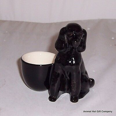 £11.99 • Buy QUAIL Black Poodle With Egg Cup