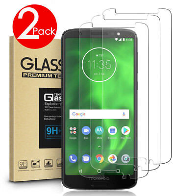 AU4.99 • Buy 2 PACK 9H Tempered Glass Screen Protector For MOTO G8 /G7 Power /G9 Play/G7 Plus